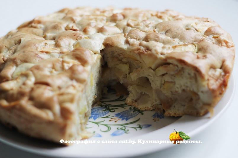 Рецепт шарлотки с яблоками say7 167