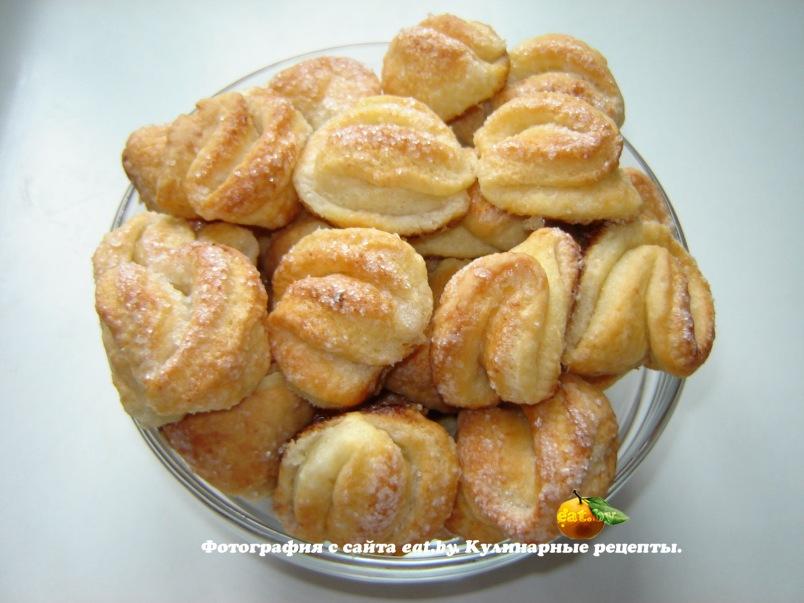 рецепт творожных печений