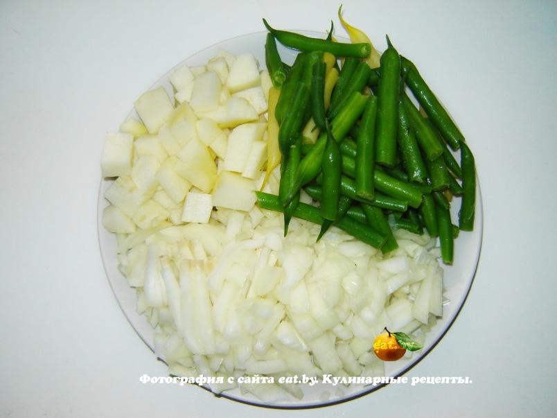 спаржевая фасоль с кабачками рецепты приготовления на зиму