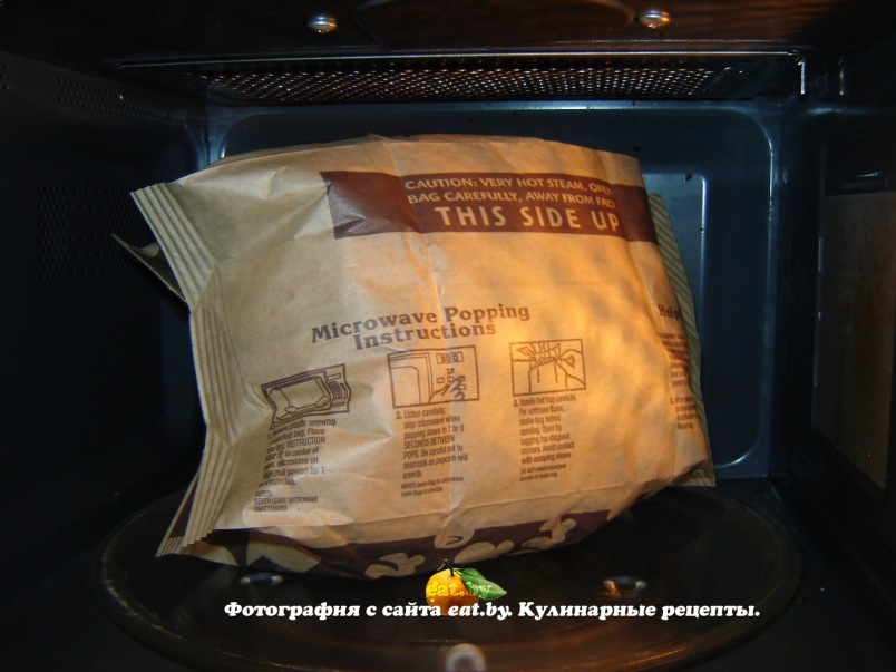 как в духовке сделать попкорн