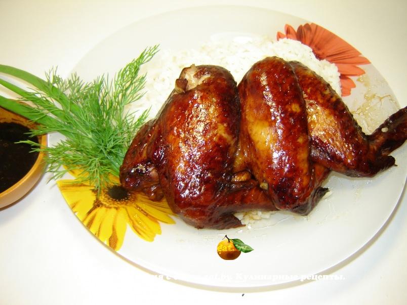 маринад для курицы из меда и соевого соуса