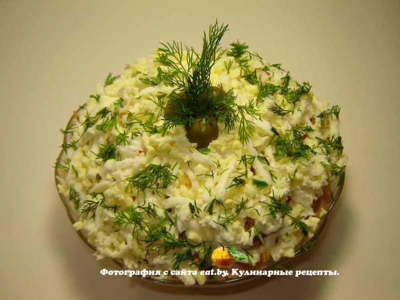 Салат с говядиной и помидорами и сыром рецепт 155