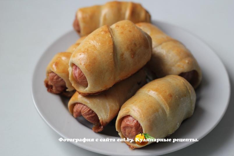 Сосиски в тесте быстро и вкусно рецепты