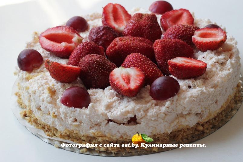 Как приготовить вкусный торт с клубникой