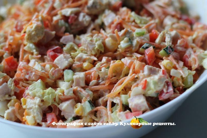Рецепт салата из щуки  salatlegkoru
