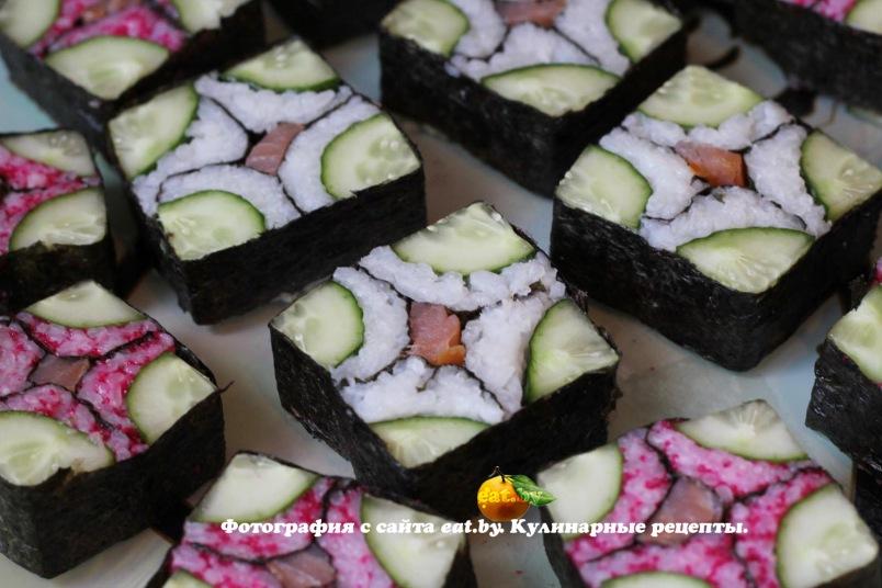 Суши видео рецепты 93