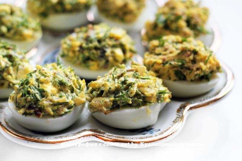 Яйца, фаршированные грибами - рецепт, фото, как приготовить вкусно, быстро и просто. eat.by