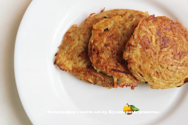Драники из кабачков и картофеля в духовке рецепт пошагово 88