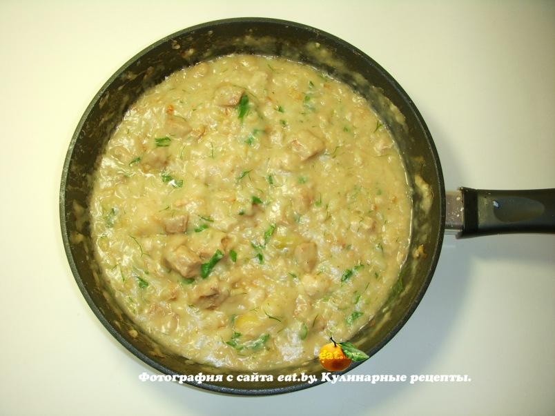суп пюре с шампиньонами и сметаной рецепт