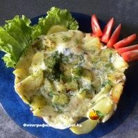 Картофельный омлет
