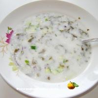Летний  суп со щавелем
