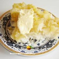 Тушеные кабачки с рисом