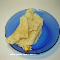 Блины запеченные с сыром