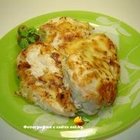 Курица в тесте (отбивные из куриного филе)