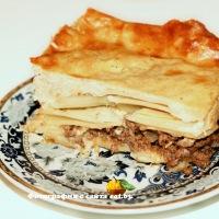 Пастицио (запеканка из макарон с фаршем) лапшенник