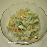 Салат из киви и кураги