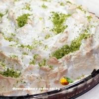 Key Lime Pie (лаймовый торт)