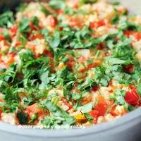 Миш-маш (болгарский омлет с овощами)