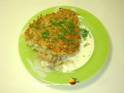 Картофельная бабка(запеканка) со свининой