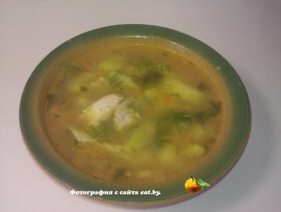 Гороховый суп на куриной косточке