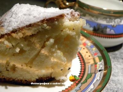 фото Сливочный пирог