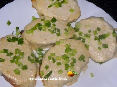 фото Бутерброды, запеченные с сыром