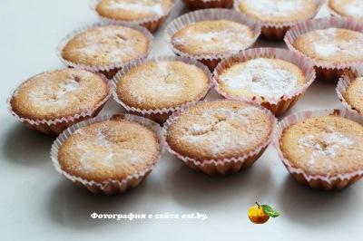 фото Лимонный кекс в формочках