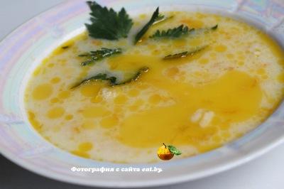 Рыбный суп с плавленым сырком