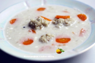 фото Рыбный суп с фрикадельками