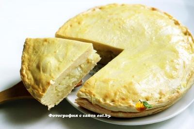 фото Картофельный пирог по-молдавски