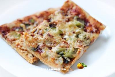 фото Пицца с кальмарами