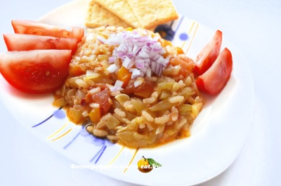 фото Рагу из кабачков с рисом