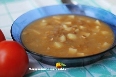фото Суп из чечевицы