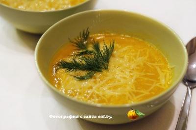 фото Тыквенный суп-пюре
