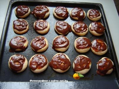 фото Печенье в шоколаде